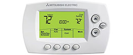 Alternative HVAC Solutions | Mitsubishi Thermostat